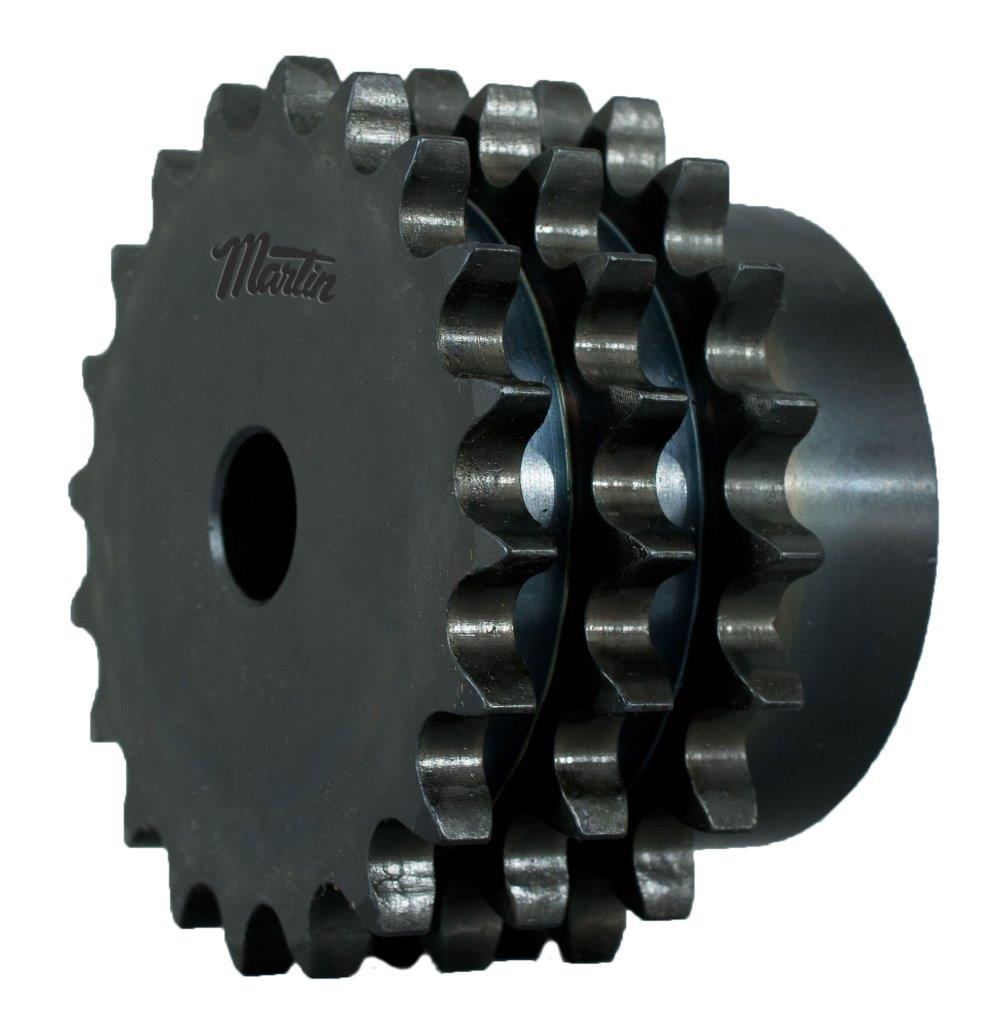 Sprocket metrico com tripla fileira de dentes 1